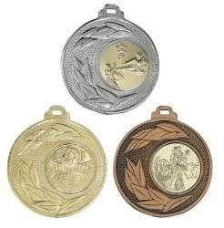 """Medaille """"Sunion"""" Ø 50mm mit Wunschemblem und Band"""