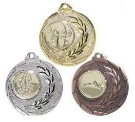 """SALE: Medaille """"Cava"""" Ø 50mm mit Wunschemblem und Band"""