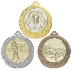 """Medaille """"Eloro"""" Ø 70mm mit Wunschemblem und Band"""
