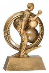 Trophäe Boule FS16702 bronze