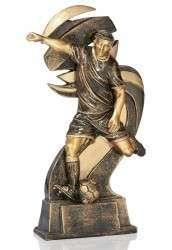 Trophäe Fußballer mit Ball FS16931