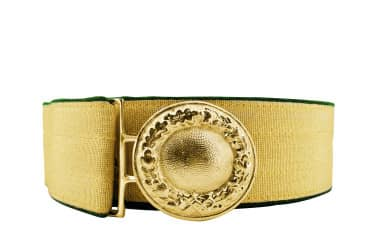 Feldbinde mit goldener Tresse