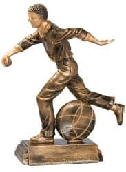 Trophäe Boulespieler FS20315 bronze