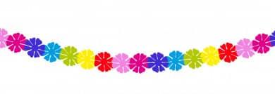 """Mini Girlande """"Blumen"""""""