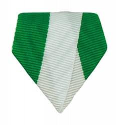 Banddreieck grün/weiß