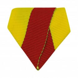 Banddreieck gelb/rot