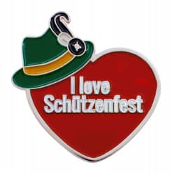 "Herzpin ""I Love Schützenfest"""