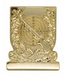 Meisterschaftabzeichen Gewehr gold