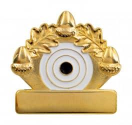 """Meisterschaftsabzeichen """"Eichenlaub"""" gold"""