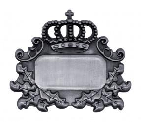 Königsabzeichen 4 altsilber