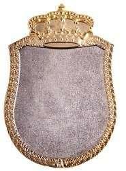 Königsschild 2 silber-gold