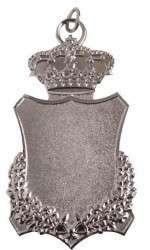 Königsschild 4 mit Krone