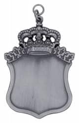 Königsschild 10 altsilber