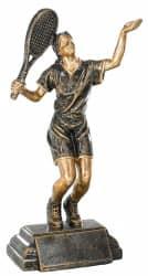 Trophäe Tennisspielerin FS52532 bronze