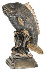 Trophäe Fisch FS52541 bronze