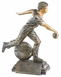 Trophäe Boulespieler FS52646 bronze
