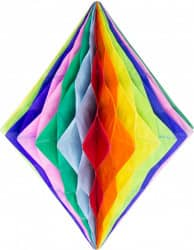 Wabendiamant mehrfarbig