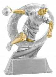 Trophäe Handballer FS71410 silber