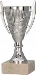 Pokale mit Henkel 3er Serie TRY-9082 silber