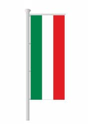 NRW-Fahne-Ausleger Hochformat ohne Wappen nur Streifen