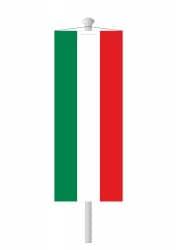 NRW Bannerfahne ohne Wappen nur Streifen