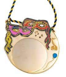 Karnevalsorden - Bunte Masken