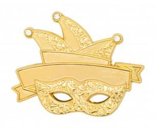 Karnevalspin - Maske & Eulenspiegel