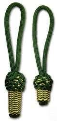 Eichel grün/gold