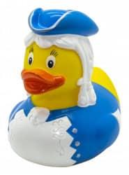 """Tanzmariechen-Ente """"Marie"""" Blau"""