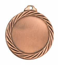 """Medaille """"Passaron"""" Ø 32mm mit Wunschemblem und Band bronze"""