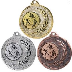"""Ski Medaille """"Cava"""" Ø 50mm mit Wunschemblem und Band"""