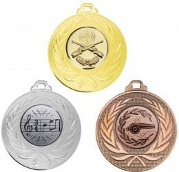 """Medaille """"Elea"""" Ø 50mm mit Wunschemblem und Band"""