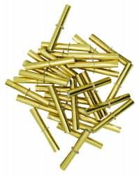 Nieten GOLD für Tombola-Lose 500Stk. (Röllchenlose)