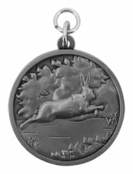 """Jagdmedaille """"Hase"""""""