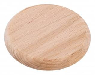 Bierglasdeckel aus Holz