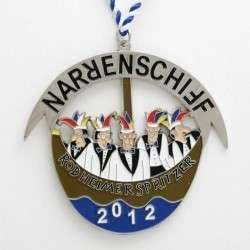 "individueller Karnevalsorden ""Narrenschiff"""