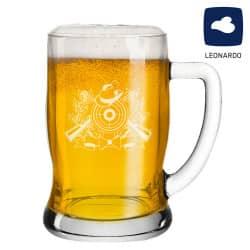 Leonardo Bierseidel 0,5l Taverna mit Schützenlogo