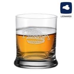 Leonardo Whiskeyglas 350ml mit Narrenkappe