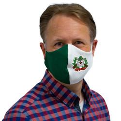 Wiederverwendbare Mund- und Nasenmaske mit Schützenmotiv - für Herren