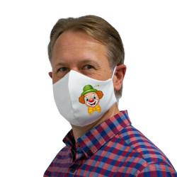 """Wiederverwendbare Mund- und Nasenmaske mit Motiv """"Clown"""" - für Herren"""