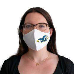 Wiederverwendbare Mund- und Nasenmaske mit Narrenkappe - für Damen & Kinder
