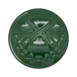 Schützenknopf 24 mm mit Öse grün