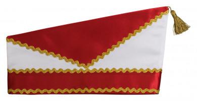 Schiffchen 1040 60   rot-weiß