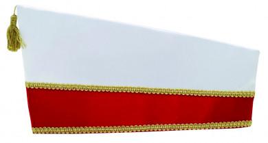 Schiffchen 68038 54   rot-weiß