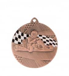 "Medaille ""Kart"" Ø 50mm mit Band"