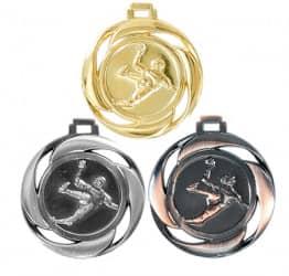 "Medaille ""Handball"" Ø 40mm mit Band"