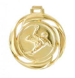 "Medaille ""Handball"" Ø 40mm mit Band Gold"