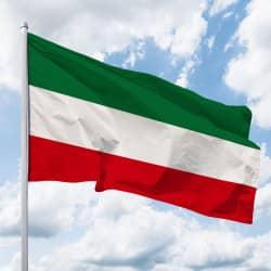 NRW-Flagge ohne Wappen