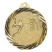 "Medaille ""Handball"" Ø 32mm gold mit Band"
