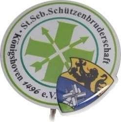 """Pins Offsetdruck """"Schützenbr"""""""